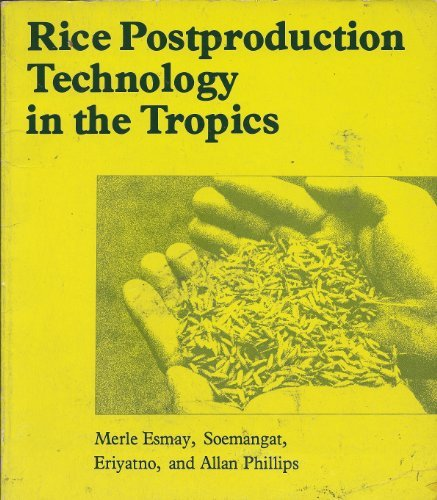 9780824806385: Rice postproduction technology in the tropics