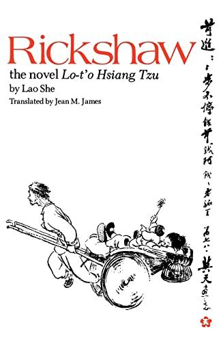 9780824806552: Rickshaw: The Novel Lo-t'o Hsiang Tzu