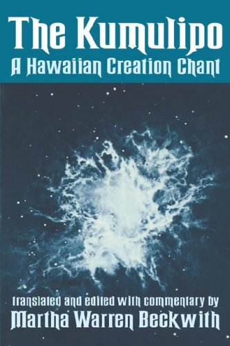 9780824807719: The Kumulipo: A Hawaiian Creation Chant