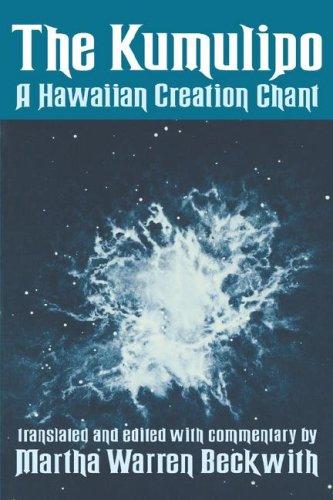 9780824807719: Kumulipo: A Hawaiian Creation Chant