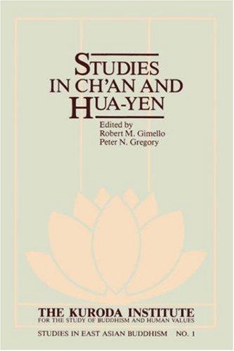 9780824808358: Studies in Ch'an and Hua-Yen (Kolowalu Book)