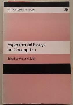 9780824808365: Experimental Essays on Chuang Tzu (Asian studies at Hawaii)