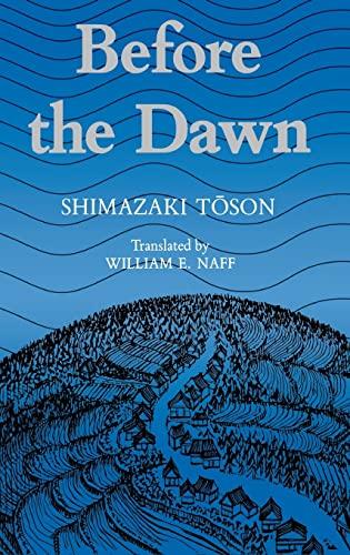 Before the Dawn (Miscellany; 135): Toson, Shimazaki