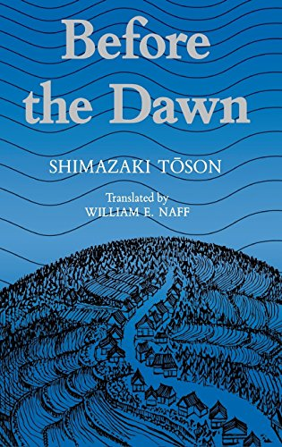 Before the Dawn: Shimazaki, Toson