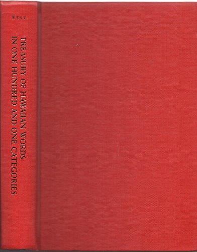 9780824810719: Treasury of Hawaiian Words: In One Hundred