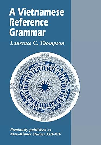 9780824811174: A Vietnamese Reference Grammar (Mon-Khmr Studies)