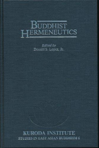 9780824811617: Buddhist Hermeneutics (Studies in East Asian Buddhism)