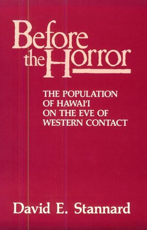 9780824812324: Before the Horror: The Population of Hawaii on the Eve of Western Contact
