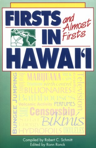 9780824812829: Firsts and Almost Firsts in Hawaii (Kolowalu Books (Paperback))