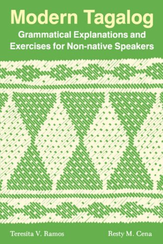 9780824813321: Modern Tagalog: Grammatical Explanations and Exercises for Non-native Speakers