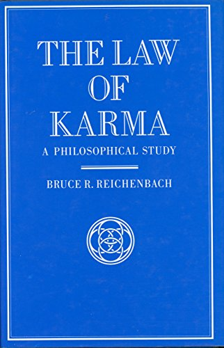 Law of Karma: A Philosophical Study: Reichenbach, Bruce R.