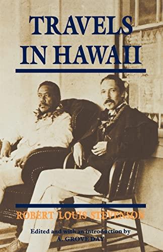 9780824813970: Stevenson: Travels in Hawaii Paper