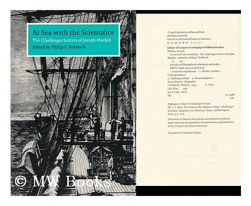 9780824814243: At Sea with the Scientifics: The Challenger Letters of Joseph Matkin