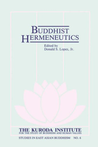 9780824814472: Buddhist Hermeneutics (Kuroda Studies in East Asian Buddhism)