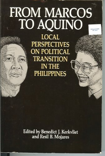 9780824814588: From Marcos to Aquino: Local Perspectives on Political Transition in the Philippines