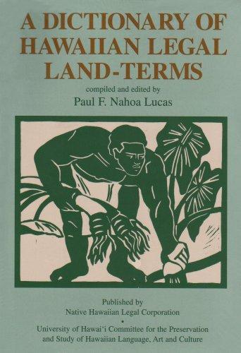 9780824816360: A Dictionary of Hawaiian Legal Land-Terms