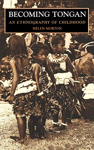 9780824817589: Becoming Tongan: An Ethnography of Childhood