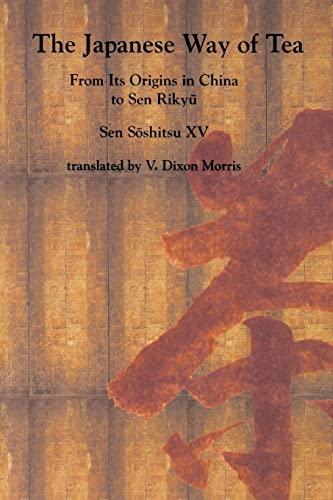 9780824819903: Sen: Lu Yu/ Japans Way of Tea Pa: From Its Origins in China to Sen Rikyu