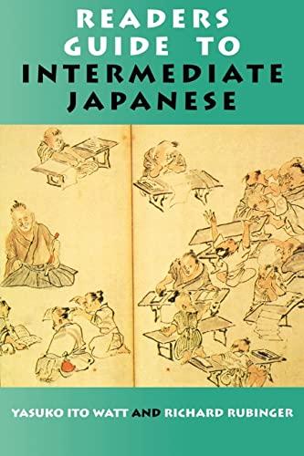 9780824820473: Readers Guide to Intermediate Japanese