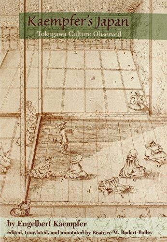 Kaempfer's Japan: Tokugawa Culture Observed: Kaempfer, Engelbert