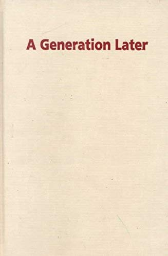 9780824821531: A Generation Later: Household Strategies and Economic Change in the Rural