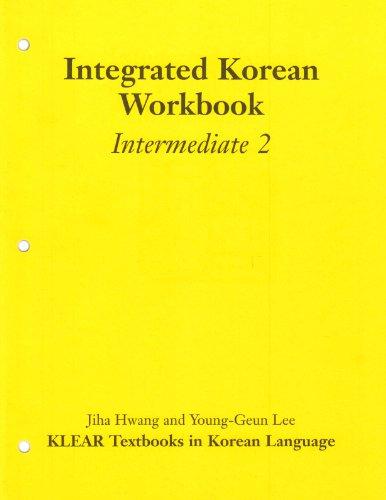 9780824824235: Integrated Korean Workbook: Intermediate 2 (Klear Textbooks in Korean Language)