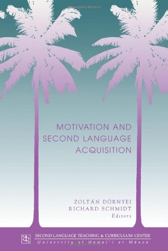 9780824824587: Dornyei: Motivation & 2nd Lang Acq (Technical Report)