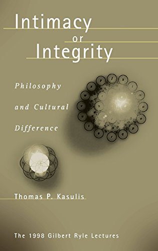 9780824824761: Intimacy or Integrity: Philosophy and Cultural Difference