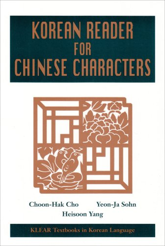 9780824824990: Korean Reader for Chinese Characters (KLEAR Textbooks in Korean Language)