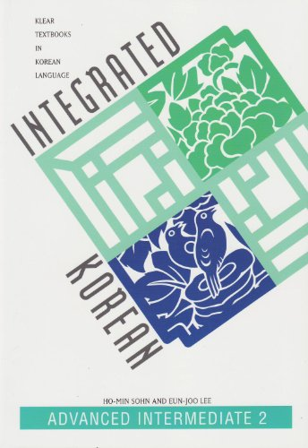 9780824825263: Integrated Korean Advanced Intermediate 2 (Klear Textbooks in Korean Language)
