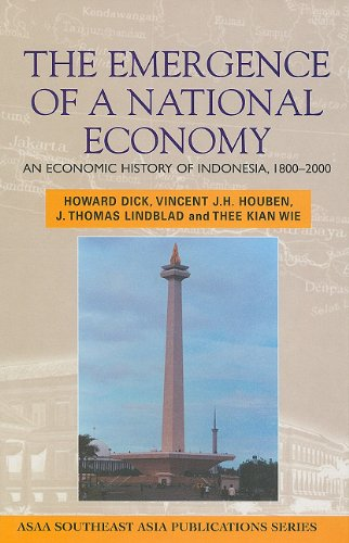 9780824825522: Emergence of a National Economy: An Economic History of Indonesia, 1800-2000 (ASAA Southeast Asia Publications)