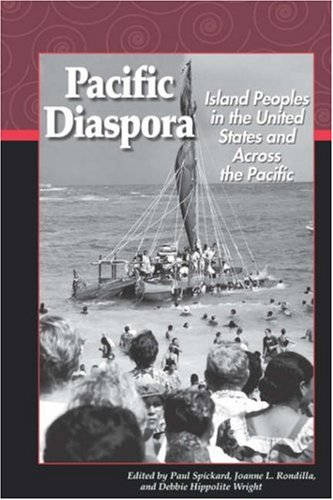 Cover of the textbook, Pacific Diaspora: Island People In The U.S
