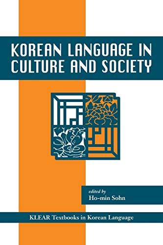 9780824826949: Korean Language in Culture And Society