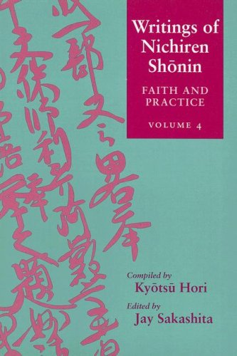 9780824831806: Faith and Practice (Writings of Nichiren Shonin)