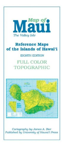 9780824832148: Map of Maui: The Valley Isle; Reference Maps of the Islands of Hawai'i