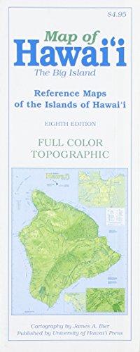 9780824834395 map of hawaii the big island