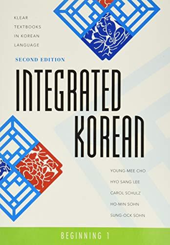 9780824834401: Integrated Korean: Beginning 1 (KLEAR Textbooks in Korean Language)