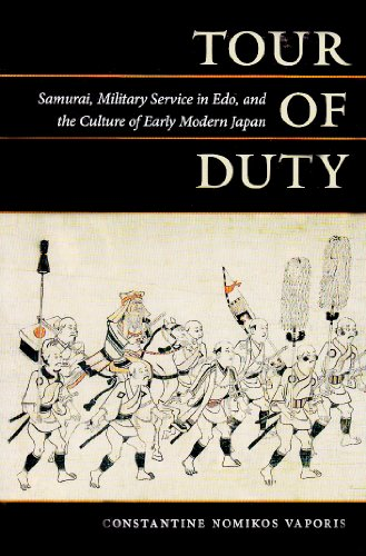 9780824834708: Tour of Duty: Samurai, Military Service in Edo, and the Culture of Early Modern Japan