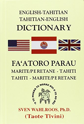 9780824834739: English-Tahitian, Tahitian-English Dictionary
