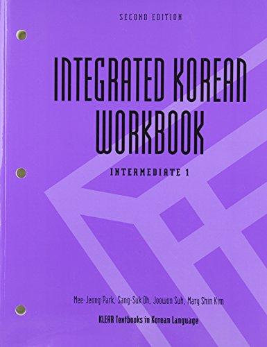 9780824836511: Integrated Korean Workbook: Intermediate 1