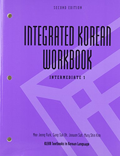9780824836511: Integrated Korean Workbook: Intermediate 1 (Klear Textbooks in Korean Language)