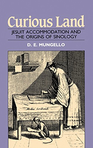 9780824859190: Curious Land: Jesuit Accommodation and the Origins of Sinology