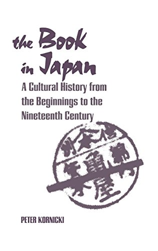 9780824859237: The Book in Japan: A Cultural History from the Beginnings to the Nineteenth Century