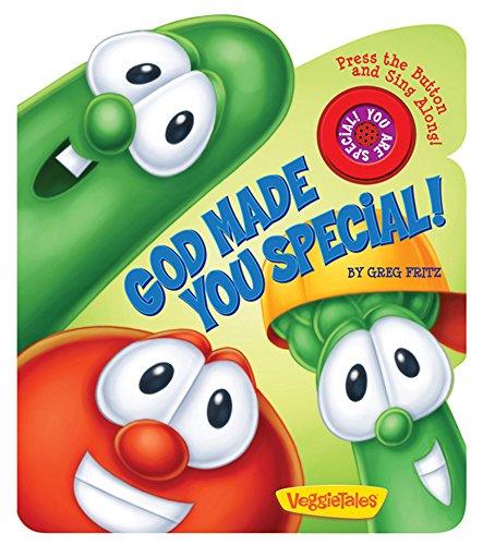 9780824918378: God Made You Special!: A VeggieTales Book (VeggieTales (Candy Cane Press))