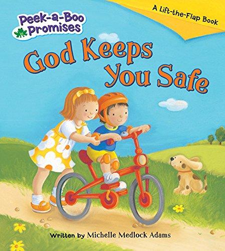 9780824918910: God Keeps You Safe (Peek-a-Boo Promises series)