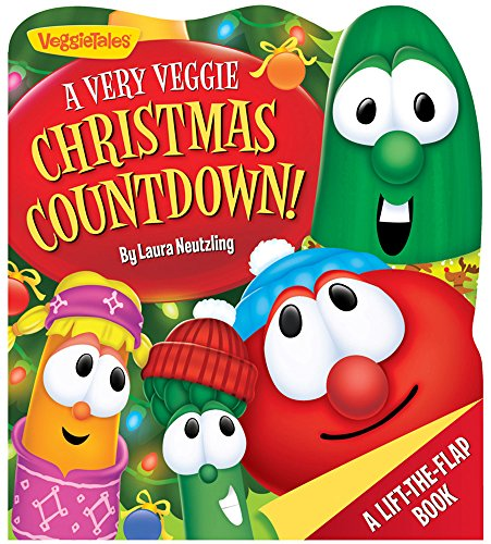9780824919092: A Very Veggie Christmas Countdown!: A Counting Lift-the-Flap Book (VeggieTales)