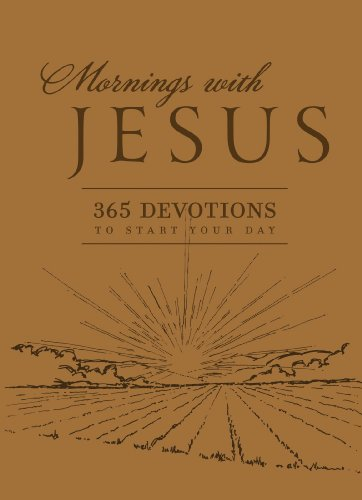 9780824934927: Mornings with Jesus: 365 Devotions to Start Your Day (Deluxe Edition)