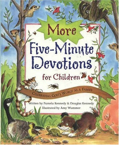 9780824955021: More Five Minute Devotions for Children: Celebrating God's World As A Family