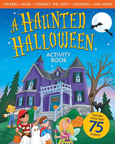 9780824956660: A Haunted Halloween Activity Book