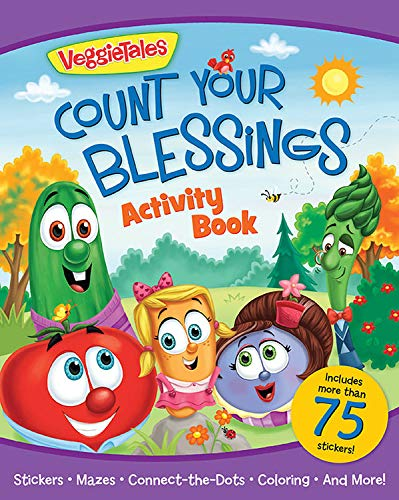 VeggieTales Count Your Blessings Activity Book: Kathleen Long Bostrom